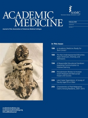 COVER ART PUBLICATION OF ACADEMIC MEDICINE